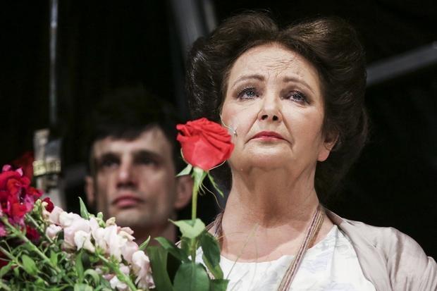 """Anna Dymna, w """"Weselu"""" Radczyni"""