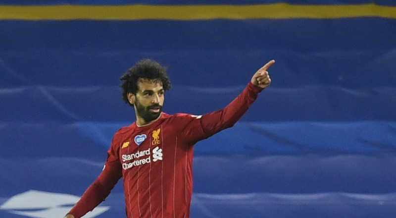 Salah keeps Liverpool's record chase on track