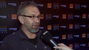 Orange Warsaw Festival 2014. Piotr Metz: jest mi strasznie przykro