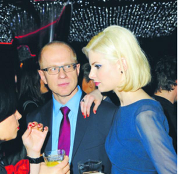 Ludwik Sobolewski i Anna Szarek - fot. Radosław Nawrocki/Forum