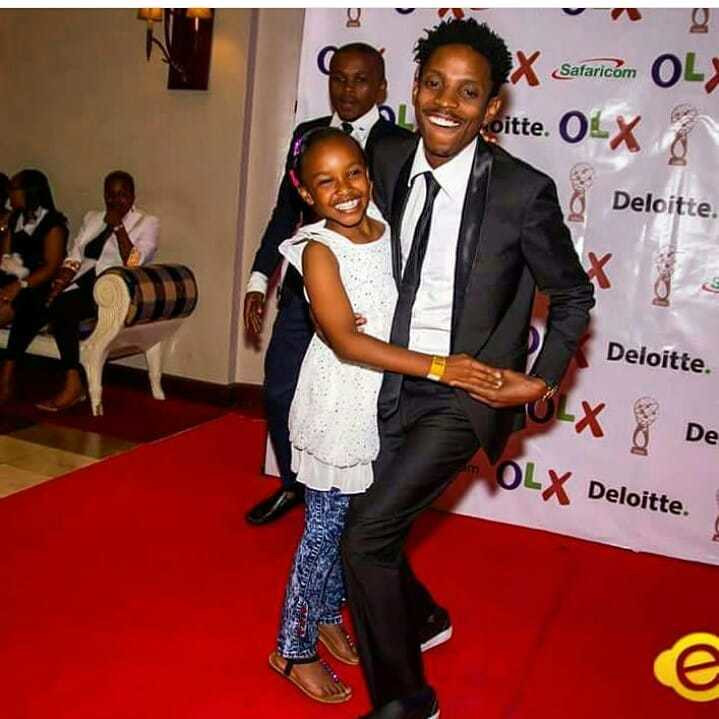 Wendy Waeni with Eric Omondi (Instagram)