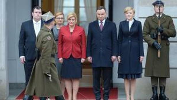 Prezydent Chorwacji w Warszawie