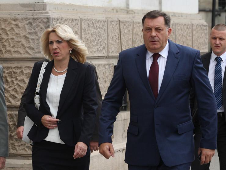 Zeljka Cvijanovic i Milorad Dodik