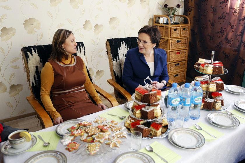 Sosnowiec. Spotkanie premier Ewy Kopacz z żonamigórników z Sosnowca