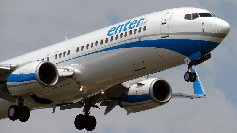 Samolot linii Enter Air