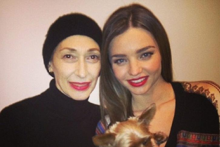 Rose Marie Swift i Miranda Kerr