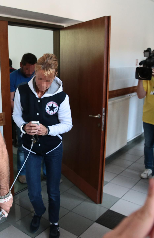 Lajcsi felesége, Boglárka kikészült a razziától, úgy érezte magát, mint hat évvel ezelőtt /Fotó: RAS ARCHIV