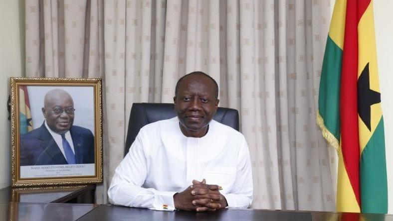 Minister of Finance; Ken Ofori Atta