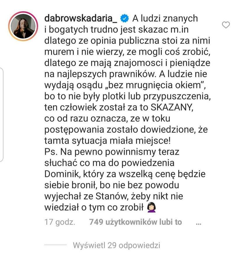 Michał Piróg znalazł się w ogniu krytyki