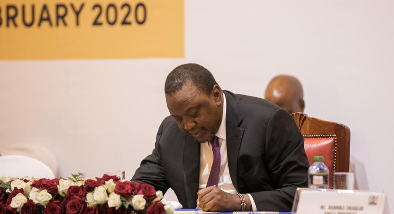 President Uhuru Kenyatta pays Sh1 million fine for Benedict Karisa, man caught with python in Mombasa
