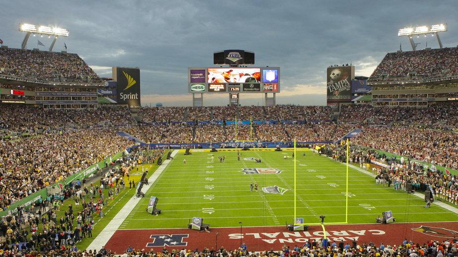 Super Bowl na Raymond James Stadium w 2009 r.