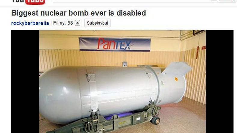 B-53 - największa bomba atomowa USA