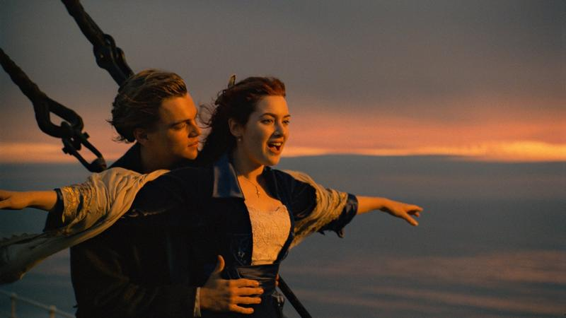 """Titanic"" - kadr z filmu"