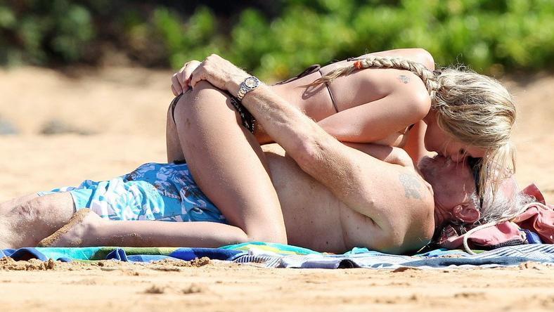 Jenna Bentley z partnerem