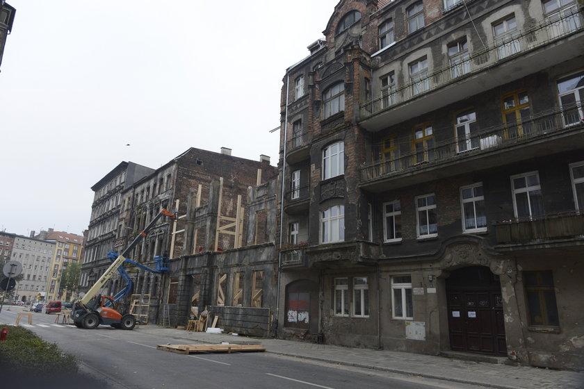 Ul. Kurkowa we Wrocławiu jako scenografa do filmu Spielberga