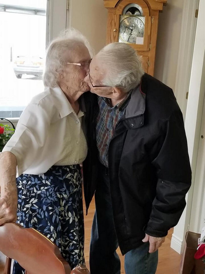 Kanada. Dom opieki rozdzielił Herberta i Audrey tuż przed Wigilią