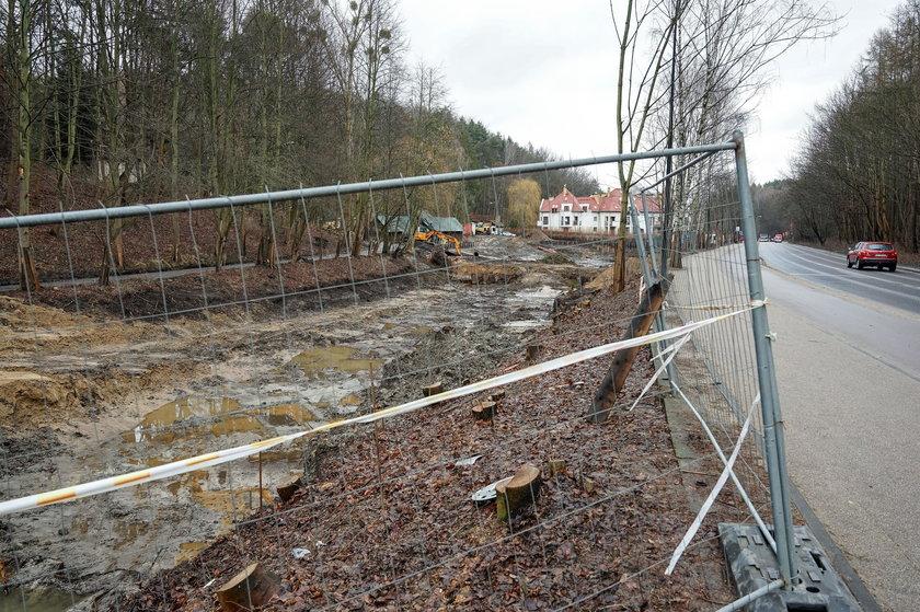 Tu powstaje nowy zbiornik retencyjny Jaśkowa Dolina.