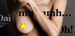 Lady Gaga pokazała biust na okładce