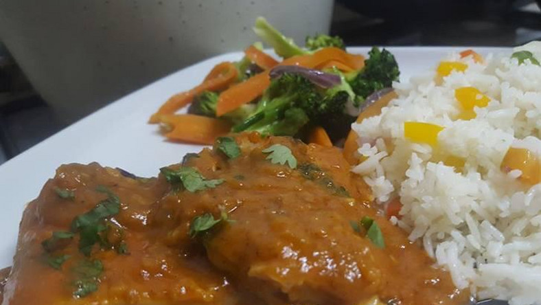 Fish curry, vegetable rice - Kui's Kitchen
