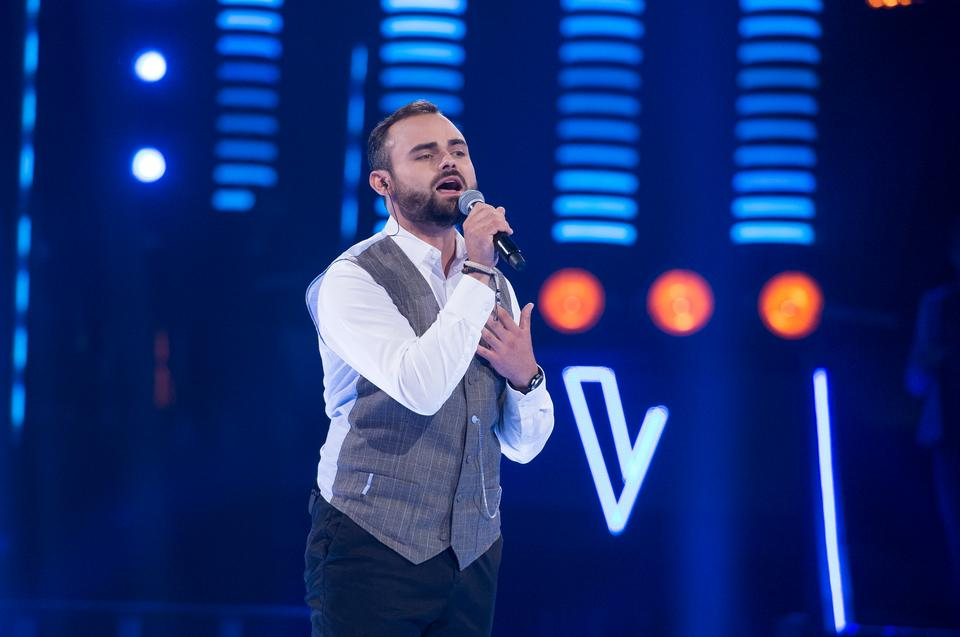 "Michał Matuszewski w ""The Voice of Poland 11"""
