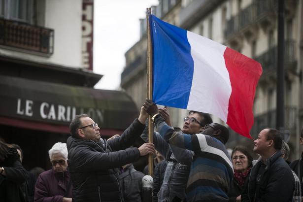 Paryż po zamachu, EPA/ETIENNE LAURENT Dostawca: PAP/EPA.