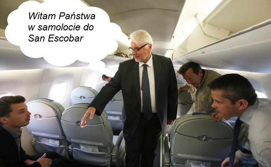 Witold Waszczykowski spotkał się z ministrem San Escobar? Zobacz memy