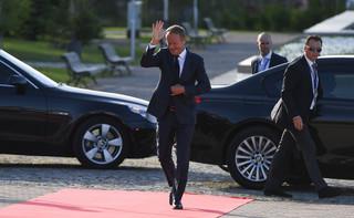 Tusk: Polska powinna kształtować politykę europejską wobec USA