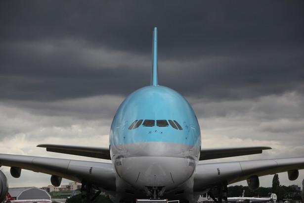 Airbus A380 linii Korean Air.