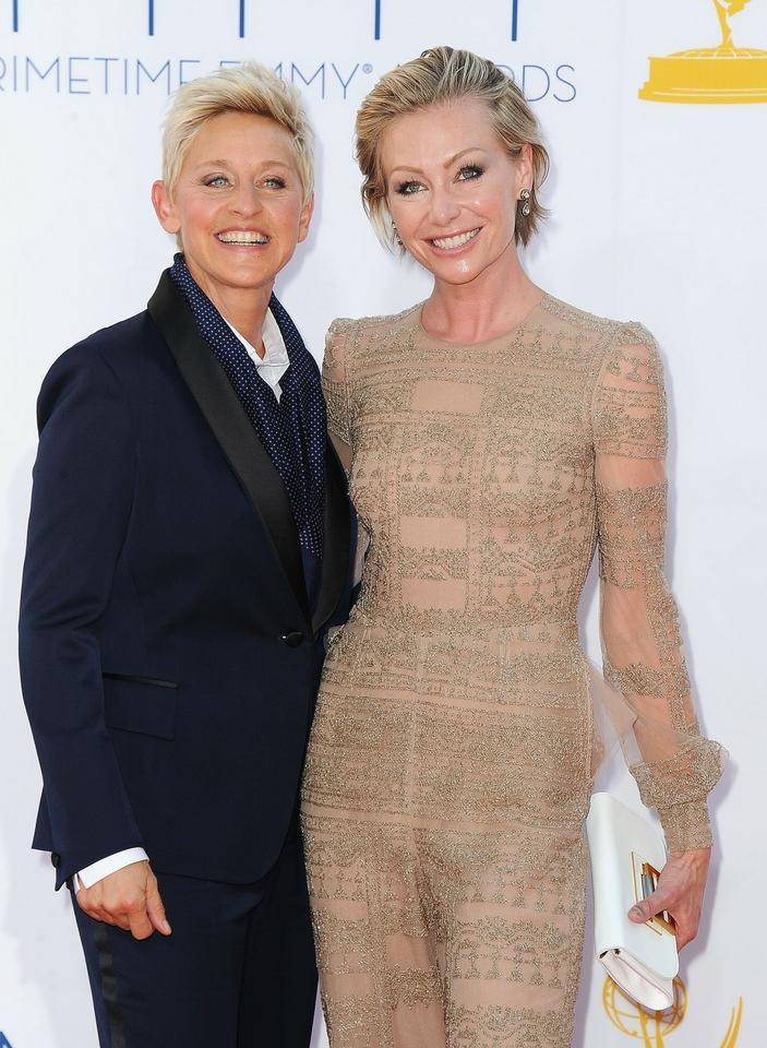 Portia DeRossi i Ellen DeGeneres