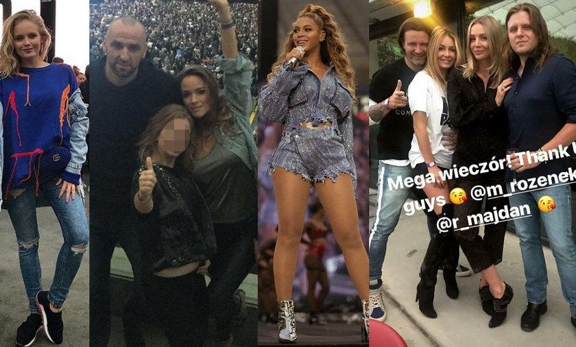 Gwiazdy na koncercie Beyoncé