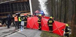 Tragiczny wypadek pod Nieporętem. Nie żyje jedna osoba
