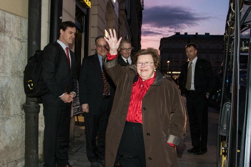 Prezydent Andrzej Duda spotkał się w Krakowie z senatorami z USA