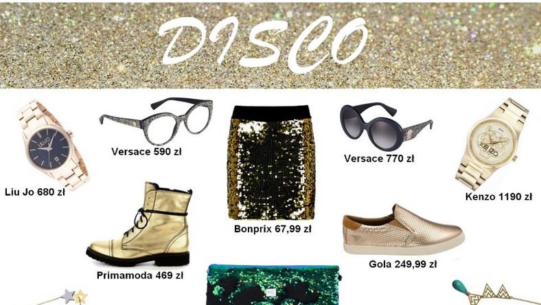 Jesteś fanką kobiecego stylu glamour i najchętniej przeniosłabyś się do lat 80.? Postaw na styl disco.