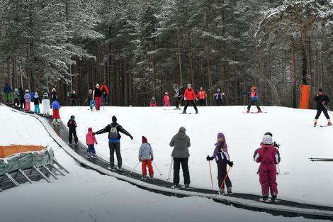 Tornik: Poligon za obuku skijaša početnika