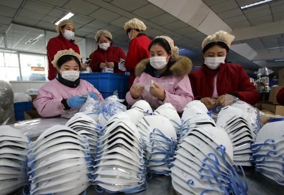 Prodaja zaštitnih maski u porastu