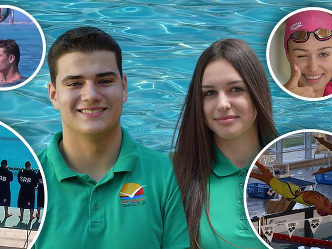 ZAPAMTITE NJIHOVA IMENA: Uspešni sportisti i odlični učenici, a ne vezuje ih samo bazen