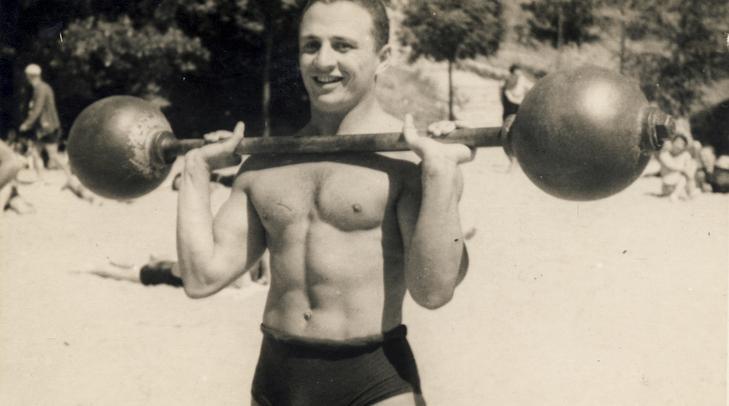 Alfonzó 1935-ben /  Fotó:  Fortepan - Kármentő Éva