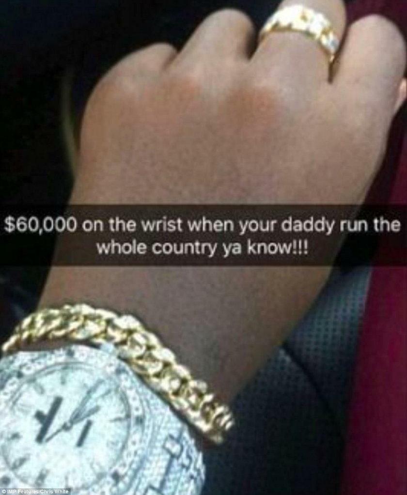 Obrzydliwe bogactwo afrykańskiej młodzieży