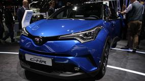 Toyota C-HR - atrakcyjny crossover (Paryż 2016)