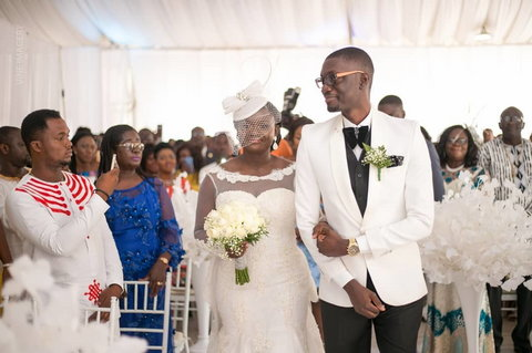 Beautiful photos from Ameyaw Debrah's wedding you need to see