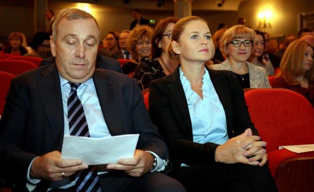 Grzegorz Schetyna i Barbara Nowacka