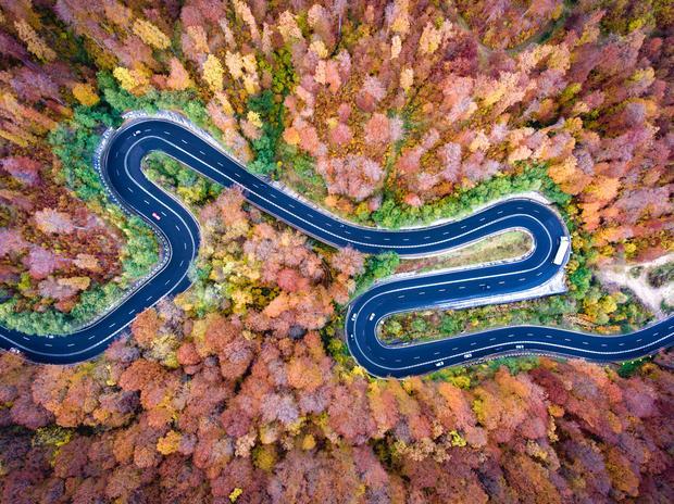 Górska droga, Transylwania