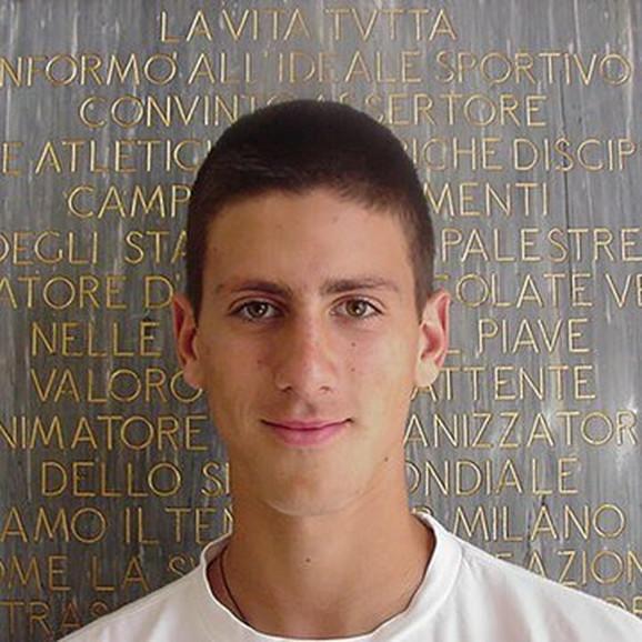 Novak Đoković, četiri godine posle NATO bombardovanja, 2003.