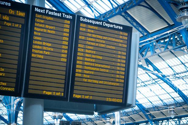 W najbliższy poniedziałek wejdzie korekta rozkładu jazdy na kolei.