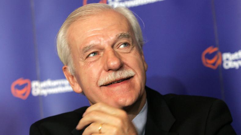 Olechowski znów zawalczy o fotel prezydenta
