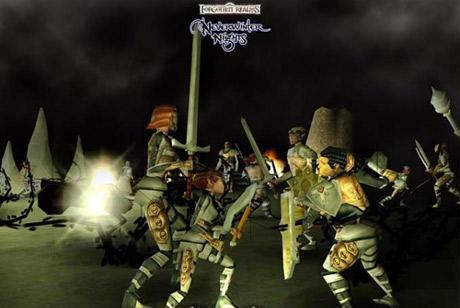 """11. """"Neverwinter Nights"""" to jedna z najbardziej innowacyjnych gier RPG."""