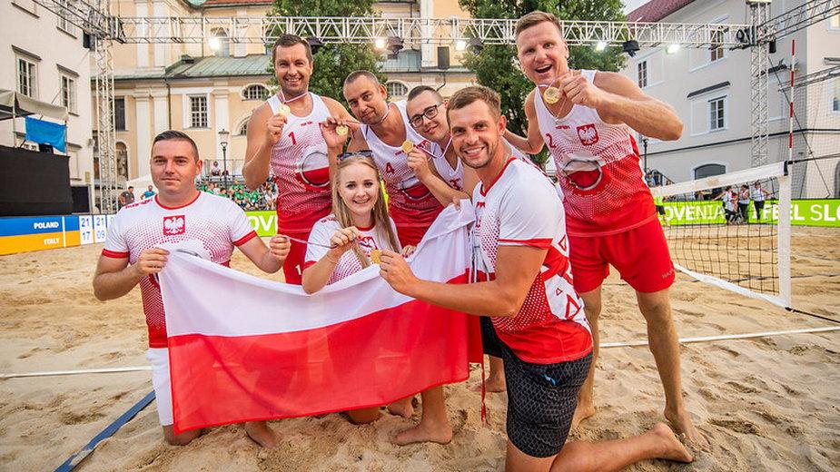 Reprezentacja Polski osób niepełnosprawnych w siatkówce plażowej