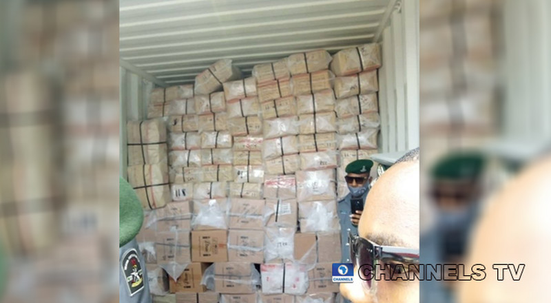 Truck loaded with Tramadol, codeine has been seized by police in Lagos