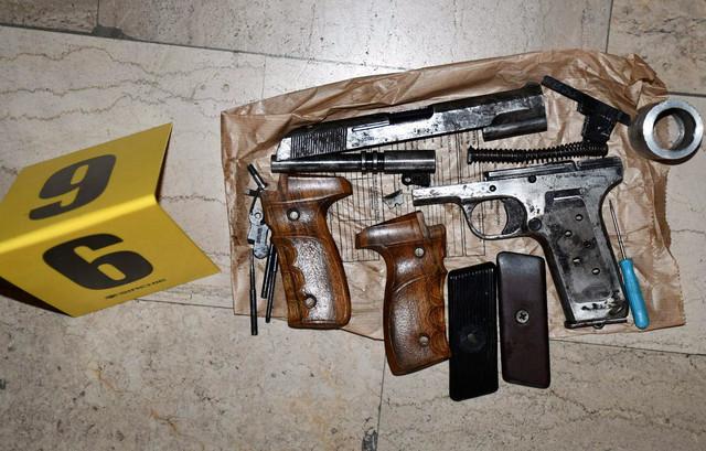 Zaplenjeno oružje u Nišu