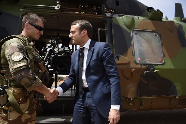 Macron z wizytą w Afryce